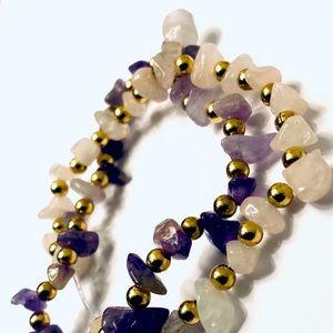 Jewelry - Handmade bracelet and anklet set